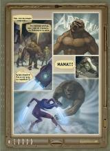 """27 страница комикса """"Истории тысячи солнц"""""""