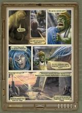"""30 страница комикса """"Истории тысячи солнц"""""""